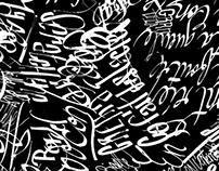 •  caligrafia  •
