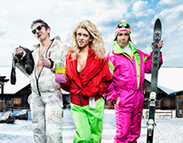 Roastar Winter Print Campaign... Ridiculous 80's