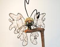 Ren the moth- Custom Qi Qi for TOYCON UK Exhib