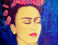 Frida Kahlo - portrait