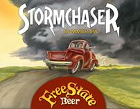 Free State Beer | Stormchaser IPA Branding & Packaging