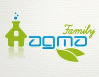AGMA FAMILY BRAND IDENTITY