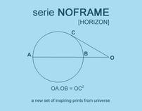 serie NOFRAME [HORIZON]