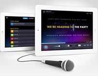 Soulo | Karaoke iPad App Design