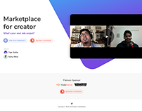 Maker's Marketplace Landing Page