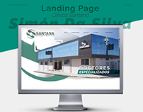 Landing Page - Clinica Santana