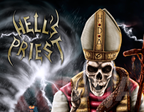 COVER ART - HELL´S PRIEST