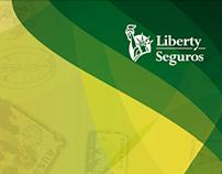 """Propuesta Minisite y pasaporte """"Contagiate"""" Liberty"""