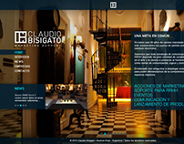 Claudio Bisigato - Web Design