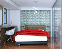 Sketchup & V-Ray Bedroom