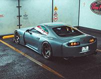 Toyota Supra   Full 3D