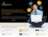 Doopler - Web Design