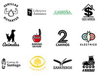 Serie de logotipos para inspiración