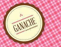 Ganache, Gourmet Bakery Logo