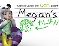 """Megan's Alien"" -Animated short"