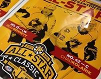 2013 WBS Penguins All-Star Poster
