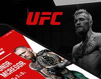 UFC UX Design