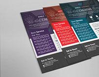 Wirele Corporate Flyer Premium Templates