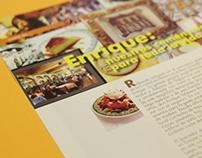 """""""Sabores de Tlalpan"""" Magazine"""