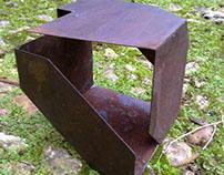 Metal Cube Deconstruction