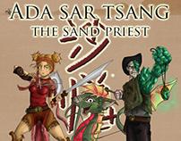 """Ada Sar Tsang: The Sand Priest""- Character Design"