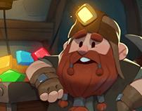 Gnome in the mine