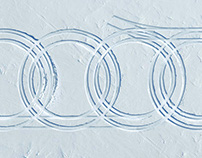 Audi Xmas Card // Mattepainting
