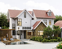 Home Exterior Design (CGI)
