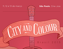 City and Colour Poster