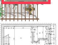 Distribuzione interna, Villa C3, Porphyrios Associates