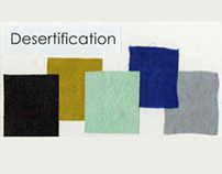 Desertification - A Hand Dyed Series