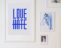 Poster against hate | San Marino