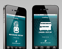 Air New Zealand : iOS App Series