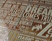Classic Rock Typography
