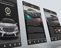Mercedes-Benz CLA Mobile App