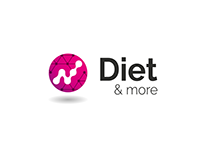 Diet & more - redesign logo - alternative