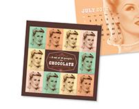 Chocolate Theme Calendar
