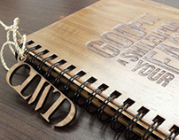 Cloudwood A5 Teak Wood Notebook Binder