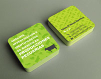 Livestock Research Business Cards