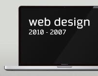 Web Design / 2010 - 2007
