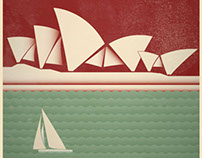 Destination Poster Series