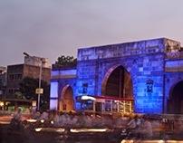 Disturbed Vocabulary   Wall of Ahmedabad
