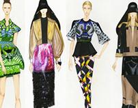 Fashion Illustration-Markers