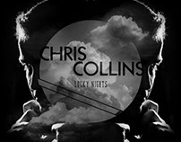 Chris Collins | Lucky Nights CD Jacket Design