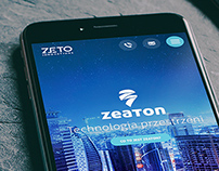Zeaton One Page Landing Page