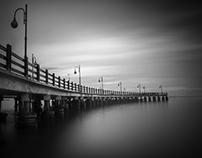 The pier ...