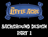 The Little Acre: Background Design