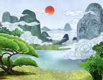 Scene and Background Design_Feng Huang