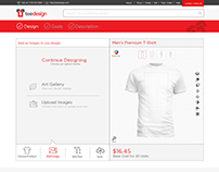 TeeDesignShop - Web App to design/order your own tee.