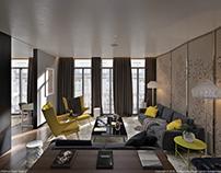 Mandarin Hotel Premium Suite.